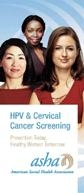 HPV & Cervical Cancer Screening: Prevention Today. Healthy Women Tomorrow (Pkg of 50)