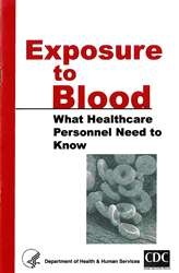 Exposure to Blood: What Healthcare Personnel Need to Know Pamphlet (Pkg of 50)