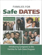 Families for Safe Dates Starter Booklet: Getting Started (for parents only) (Pkg of 50)