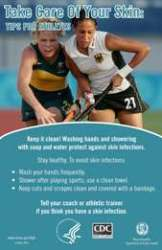 Take Care of Your Skin: Tips for Athletes Poster 1 (Pkg of 5)